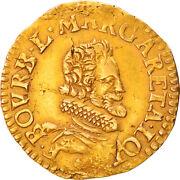 [219122] Coin, French States, Chateau-renaud, Florin D'or, Au50-53, Gold