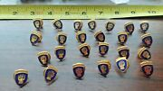 25 Vintage Army 46th Division Sweetheart Jewelry Gold Tone Pins Dealers Lot