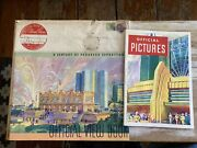 Vintage Booklets Century Of Progress World's Fair Expo Chicago 1933 View Book