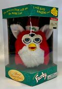 Furby Red And White Special Limited Edition Christmas Sealed In Box