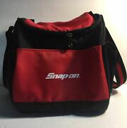 Snap On Cooler Lunch Bag Box Soft Cooler Tool Bag Camping Red Tools Merch