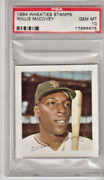 1964 Wheaties Stamps Willie Mccovey Psa 10 -- Only 3 Psa 10 Cards --    F