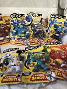Lot Of 7 Heroes Of Goo Jit Zu Figures Look Pictures All Different