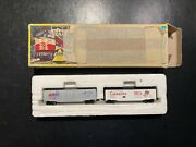 Ahm Mini Train N Scale 40' Reefer Ticx Therm Ice And Carnation. 4454c