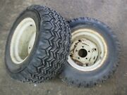 Ford Lgt-145 165 125 Tractor Open Side Firestone 23x8.50-12 Rear Tires And Rims
