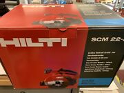 New Hilti Scm 22-a Brand New Cordless Metal Saw, Tool Only No Blade - No Battery