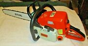 Outstanding Rebuilt Stihl 039 Chainsaw Many New Parts 20 Bar / Boss