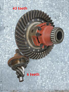 Rear-end Gear Assembly Ring And Pinion For A Mid-60sand039 Ford Industrial Tractor