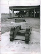 Vintage Photos 1970 Cannon Mounts At Confederate Naval Museum 7x9