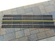 Aristo-craft G Scale Brass 60 Straight Track, 4 Sections 20'