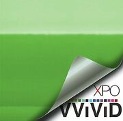 Gloss Lime Green Vinyl Wrap Pro-line Xpo By Vvivid Free Shipping Usa And Can