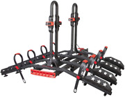Tyger Auto Tg-rk4b848b Deluxe 4-bike Hitch Mounted Bicycle Platform Carrier Rack