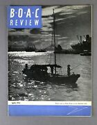 Boac Review Staff Magazine April 1952 B.o.a.c. - Aden Airways - Hong Kong Cover