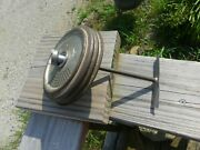 Vintage Electric Butter Churn Part Lid And Paddle/blade