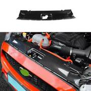 For Ford Mustang 2015-2021 Dry Carbon Fiber Engine Hood Water Tank Cover 1pcs