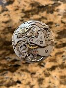 Vintage Breitling Signed Valjoux 7736 Watch Movement Swiss Made Working