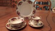 Royal Albert 6 Piece Place Setting For 6 36 Pieces Made In England