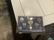 Norway 1970 Coin Set From Royal Mint. Total Of 8 Coins.
