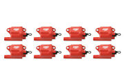 Msd Ignition Pro Power Coils For Gm Ls2 / Ls7 Engines 82878 Red 8-pack New