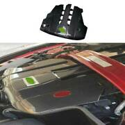 For Ford Mustang 18-21 5.0t Carbon Fiber Engine Hood Radiating Protection Cover