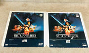 Star Wars Ced Movie Return Of The Jedi Rare Great Collectible 1983 Part 1 And 2