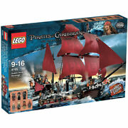 Lego Pirates Of The Caribbean The Queen Anne's Revenge 4195 Ship Sealed Nib