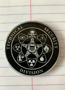 Us Secret Service Technical Security Division Challenge Coin Usss Tsd Rare