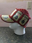 Rare Vintage Coors Banquet Crocheted Knit Beer Can Hat Party Trophy Breweriana