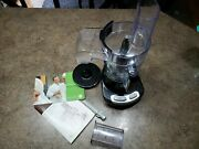 Wolfgang Puck - Bistro Food Processor Black 4 Cup + Tested/clean Used Once