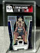 2019-20 Crown Royale Zion Williamson 7 Rookie Royal 19/49 Red Mojo Hga 🚨