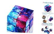 Infinity Cube Fidget Toy Fidget Finger Toys Stress And Anxiety Starry Sky