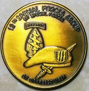 12th Special Forces Gp Airborne 1st Special Forces Verbrnz Challenge Coin Ver 3