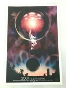 2001 A Space Odyssey 50th Anniversary Music Box Theatre Poster Chicago 19x13