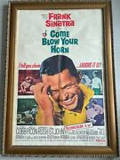 Original Movie Theater Film Poster Frank Sinatra Come Blow Your Horn 1963