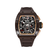 Richard Mille Rm011 Brown Ceramic Rose Gold Tzp Asia Edition