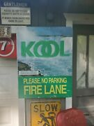 Kool Cigarette Sign Double Sided