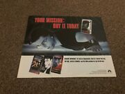 Rsm19 Movie Advert 12x10 Mission Impossible Tom Cruise