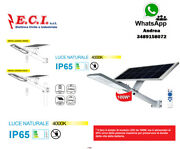 39.9fbs010n Light Road Ip65 With Led Solar Panel 40w 4000k 20 3/32x8