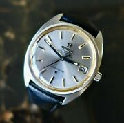 A Beautiful Gents Vintage 1975 Omega Constellation Date Ref 168.017 In Steel