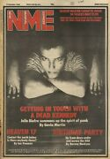 17/10/81pn01 Nme Newspaper Cover Page 15x11 Dead Kennedyand039s Jello Biafra
