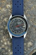 Jenny Caribbean 400 Sub Continental Blue Dial Very Rare Vintage Automatic Watch