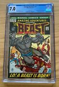 Amazing Adventures 1970 11 Cgc 7.0 1st Appearance Of Beast With Fur