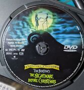 Tim Burton's The Nightmare Before Christmas Dvd, 2000 Special Edition Rare Find