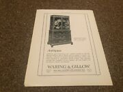 Aabk18 Antiques Advert 11x8 Waring And Gillow 18th Century Laquer Wardrobe