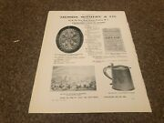 Aabk21 Antiques Advert 11x8 Sotheby And Co Auctions Limoges Dish
