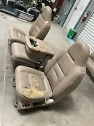 Used 02 Ford F350 Lariat Leather Front 40/20/40 Seats Shipped Left Torn 29821