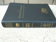 The Kenneth Copeland Word Of Faith Study Bible 50 Years Leather Vg Cnd