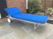 Richard Schultz Early Wire Chaise Lounge For Knoll Patio Outdoor