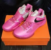 Nike Kd 4 Iv Aunt Pearl Kevin Durant Authentic Men's Size 9