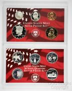 2000 San Francisco Silver Proof Set / Ogp Packaging / No Stickers Or Writing